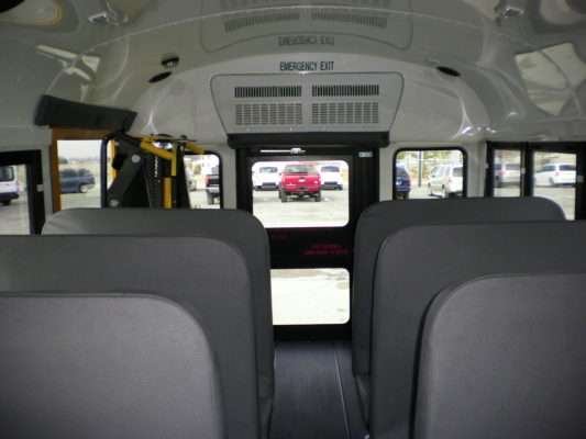 2019 Trans Tech School Bus W Wheelchair Lift