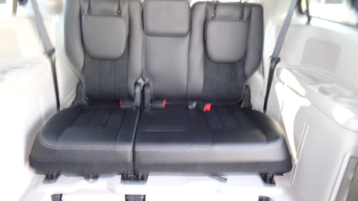 2018 Dodge Grand Caravan Sxt Braunability Power Folding Ramp